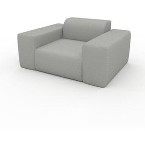 Sessel Lichtgrau - Eleganter Sessel: Hochwertige Qualität, einzigartiges Design - 141 x 72 x 107 cm, Individuell konfigurierbar