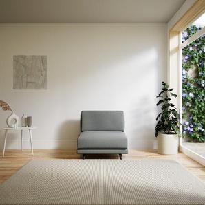 Sessel Lichtgrau - Eleganter Sessel: Hochwertige Qualität, einzigartiges Design - 80 x 75 x 98 cm, Individuell konfigurierbar