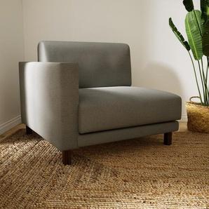 Sessel Lichtgrau - Eleganter Sessel: Hochwertige Qualität, einzigartiges Design - 92 x 75 x 98 cm, Individuell konfigurierbar