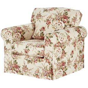 SOHO Sessel mit Husse bunt - Stoff Chaneel ¦ mehrfarbig ¦ Maße (cm): B: 99 H: 94 T: 92 Polstermöbel  Sessel  Polstersessel » Höffner