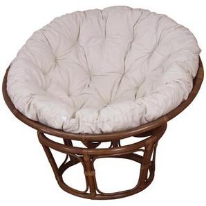 Sessel mit Kissenauflage