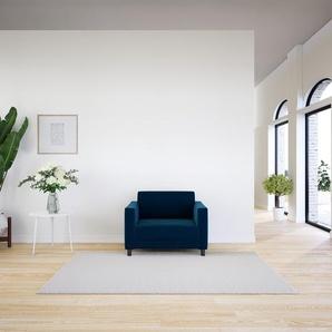 Sessel Nachtblau - Eleganter Sessel: Hochwertige Qualität, einzigartiges Design - 104 x 75 x 98 cm, Individuell konfigurierbar