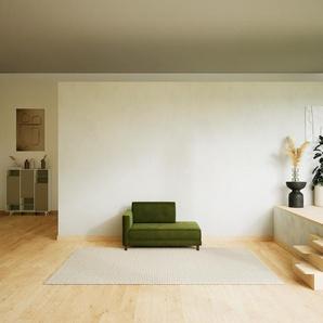Sessel Samt Olivgrün - Eleganter Sessel: Hochwertige Qualität, einzigartiges Design - 132 x 75 x 98 cm, Individuell konfigurierbar