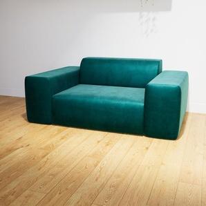 Sessel Petrolblau - Eleganter Sessel: Hochwertige Qualität, einzigartiges Design - 166 x 72 x 107 cm, Individuell konfigurierbar