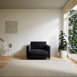 Sessel Steingrau - Eleganter Sessel: Hochwertige Qualität, einzigartiges Design - 100 x 75 x 98 cm, Individuell konfigurierbar