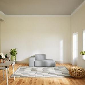 Sessel Sandgrau - Eleganter Sessel: Hochwertige Qualität, einzigartiges Design - 168 x 72 x 107 cm, Individuell konfigurierbar