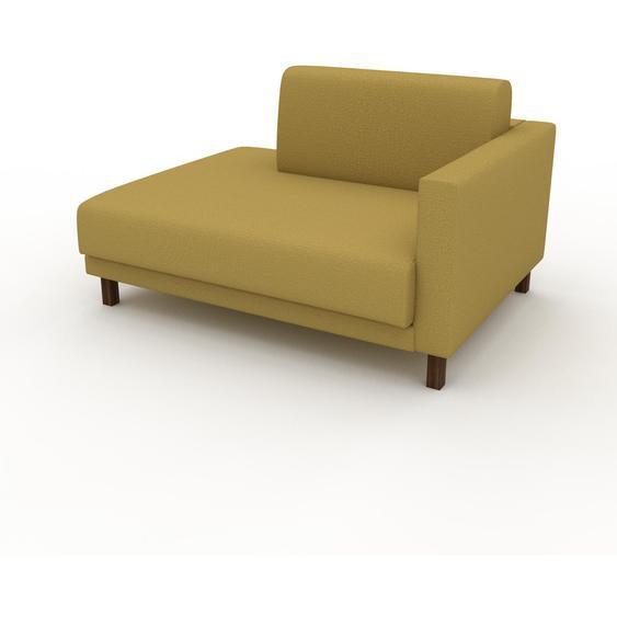 Sessel Senfgelb - Eleganter Sessel: Hochwertige Qualität, einzigartiges Design - 132 x 75 x 98 cm, Individuell konfigurierbar