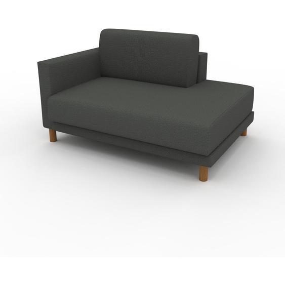 Sessel Steingrau - Eleganter Sessel: Hochwertige Qualität, einzigartiges Design - 132 x 75 x 98 cm, Individuell konfigurierbar