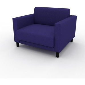 Sessel Tintenblau - Eleganter Sessel: Hochwertige Qualität, einzigartiges Design - 104 x 75 x 98 cm, Individuell konfigurierbar
