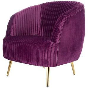 Sessel Vicky Velvet purple