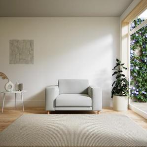 Sessel Weiß - Eleganter Sessel: Hochwertige Qualität, einzigartiges Design - 128 x 75 x 98 cm, Individuell konfigurierbar