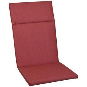 : Sesselauflage, Rot, B/H/T 50 120 4