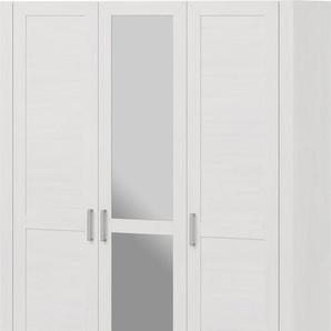set one by Musterring Drehtürenschrank Oakland, Typ 74-1SP, Pino Aurelio, 3-türig im Landhausstil B: 165 cm weiß Kleiderschränke Schränke Vitrinen Möbel sofort lieferbar