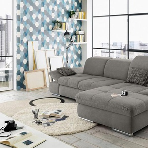 set one by Musterring Ecksofa »SO4100«, 3 Teile, Recamiere links oder rechts, wahlweise mit Bettfunktion