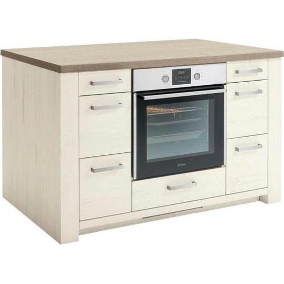 set one by Musterring Kochinsel York Einheitsgröße beige Unterschränke Küchenschränke Küchenmöbel Arbeitsmöbel-Sets