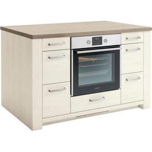 set one by Musterring Kochinsel York 0, Einheitsgröße beige Unterschränke Küchenschränke Küchenmöbel Arbeitsmöbel-Sets