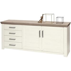 set one by Musterring Sideboard  York ¦ weiß ¦ Maße (cm): B: 185 H: 79 T: 45 Kommoden & Sideboards  Sideboards » Höffner