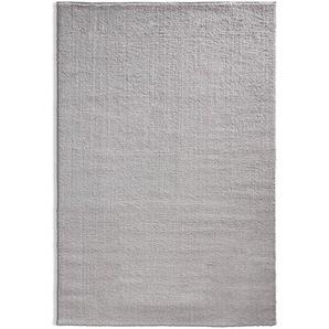 Shaggy, Grau, Mikrofaser 80 x 150 cm