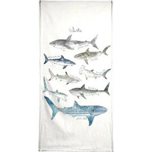 Sharks - Strandtuch