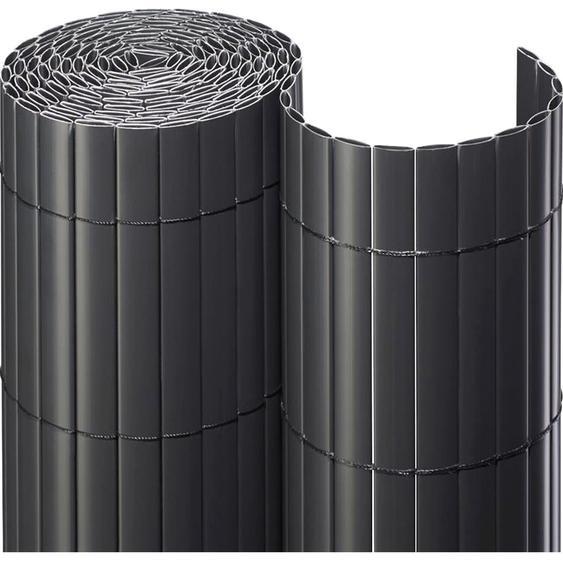 Sichtschutzmatte PVC 180 cm x 300 cm Anthrazit