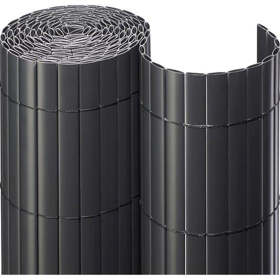 Sichtschutzmatte PVC 90 cm x 300 cm Anthrazit