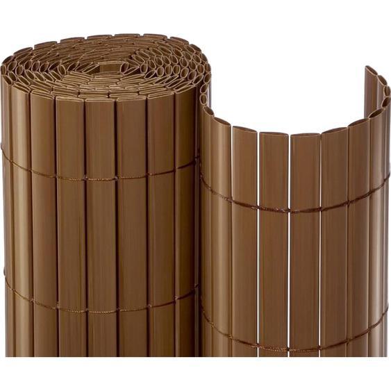 Sichtschutzmatte PVC 90 cm x 300 cm Braun