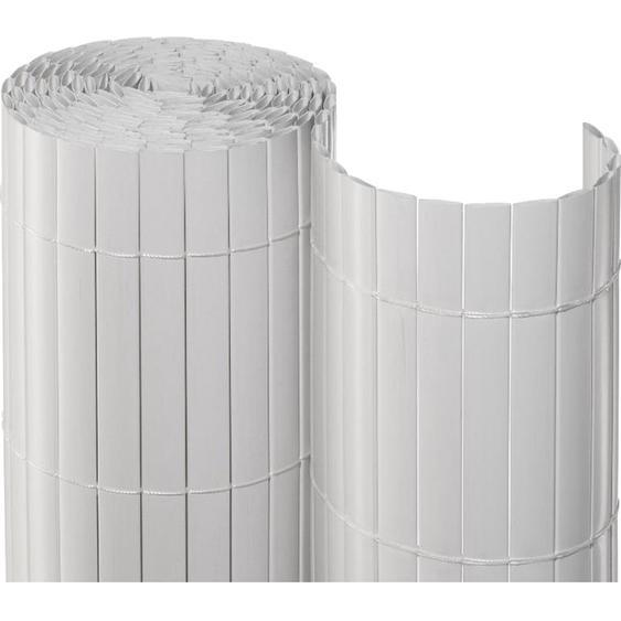 Sichtschutzmatte PVC 90 cm x 300 cm Weiß