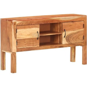 Sideboard 116x30x66 cm Akazie Massivholz