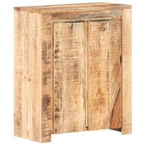 Sideboard 59x33x75 cm Raues Mangoholz