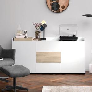 Sideboard - braun - Holz -