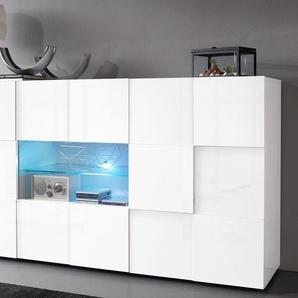 LC Sideboard »Dama«, weiß, FSC-Zertifikat, , , mit Schubkästen, FSC®-zertifiziert