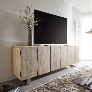 Wohnlandschaft Clovis XXL Schwarz modular Hocker Armlehne Ottomane Rechts, Design Wohnlandschaften, Couch Loft, Modulsofa, modular
