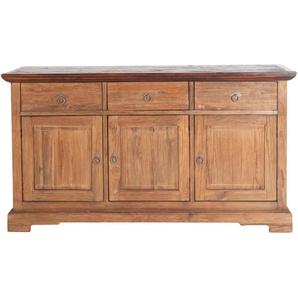 Sideboard recyceltes Teak-Altholz »Seadrift«, beige, FSC®-zertifiziert, SIT-Möbel
