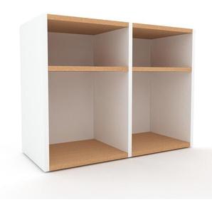 Sideboard Weiß - Designer-Sideboard: Hochwertige Qualität, einzigartiges Design - 79 x 61 x 35 cm, Individuell konfigurierbar