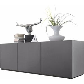 Sideboard , grau, FSC-Zertifikat, »Zela«, , , FSC®-zertifiziert, Places of Style