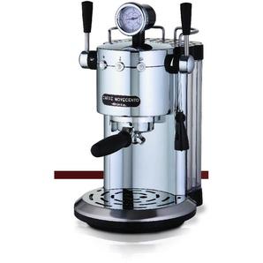 Siebträgermaschine Espressomaschine Cafè Novecento, silber, Ariete