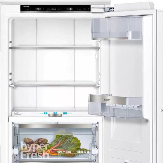 SIEMENS Einbaukühlgefrierkombination KI84FPDD0, iQ700 D (A bis G) Rechtsanschlag weiß Kühlschränke SOFORT LIEFERBARE Haushaltsgeräte