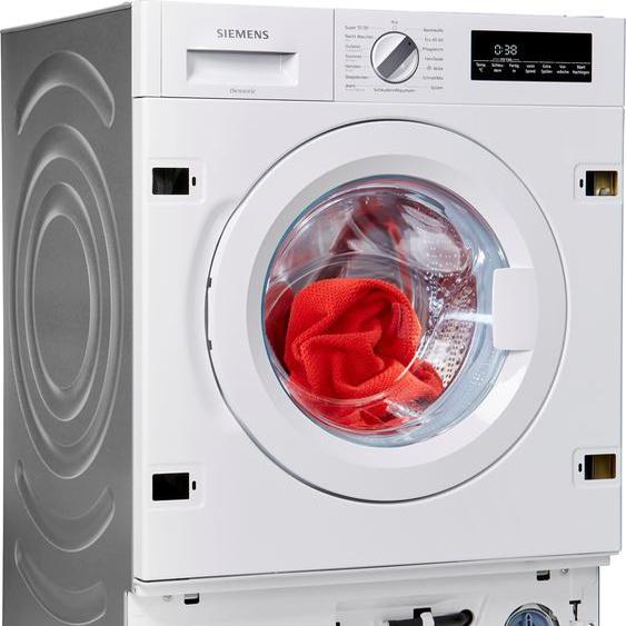 SIEMENS Einbauwaschmaschine iQ700 WI14W442, 8 kg, 1400 U/min, Energieeffizienz: C