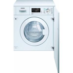 SIEMENS Einbauwaschtrockner iQ500 WK14D541, Fassungsvermögen: 7 kg, weiß, Energieeffizienzklasse: B
