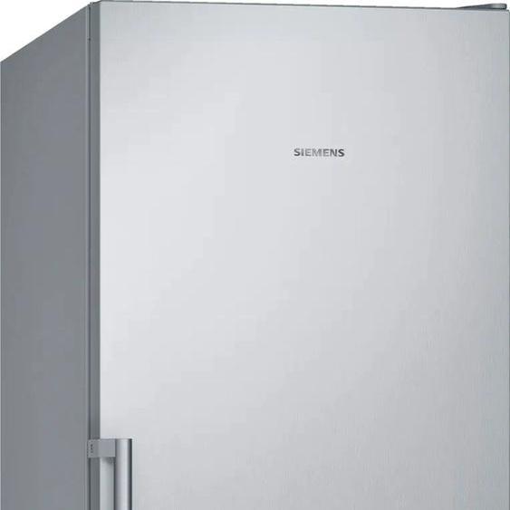 SIEMENS Gefrierschrank GS36NVIFV, iQ300, 186 cm hoch, 60 breit F (A bis G) Rechtsanschlag silberfarben Gefrierschränke SOFORT LIEFERBARE Haushaltsgeräte