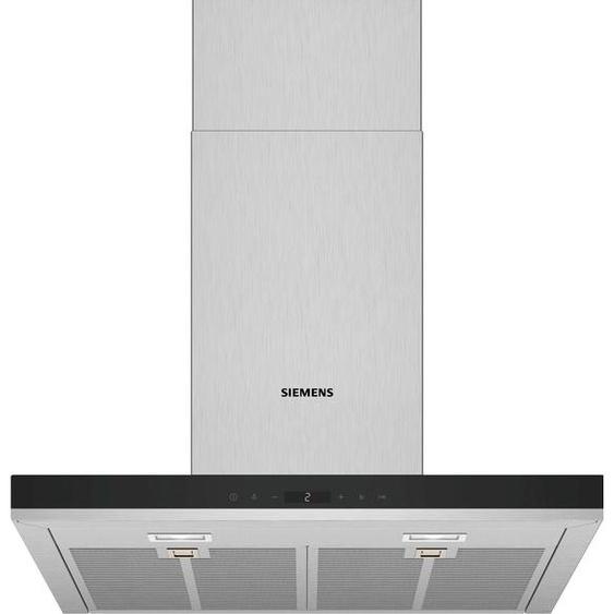 SIEMENS Wandhaube LC67BIP50, Serie iQ500 A (A++ bis E) Einheitsgröße silberfarben Dunstabzugshauben SOFORT LIEFERBARE Haushaltsgeräte