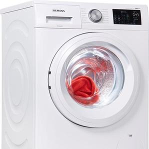 SIEMENS Waschmaschine iQ500 WM14T5EM, Fassungsvermögen: 8 kg, weiß, Energieeffizienzklasse: A+++