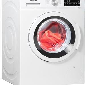 SIEMENS Waschmaschine iQ500 WU14Q4ECO, Fassungsvermögen: 8 kg, weiß, Energieeffizienzklasse: A+++