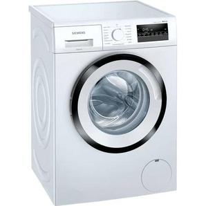 SIEMENS Waschmaschine WM14N242, iQ300, 7 kg, 1400 U/min D (A bis G) Einheitsgröße weiß Waschmaschinen Haushaltsgeräte