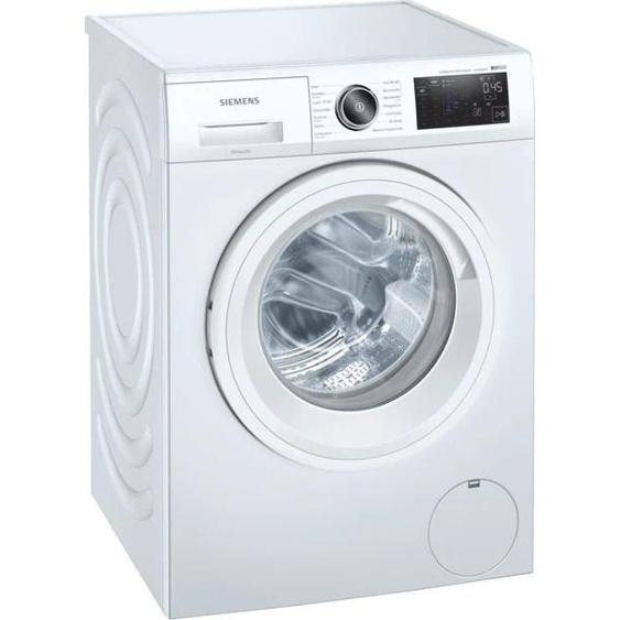 SIEMENS Waschmaschine WM14UPA0, iQ500, 9 kg, 1400 U/min C (A bis G) Einheitsgröße weiß Waschmaschinen SOFORT LIEFERBARE Haushaltsgeräte