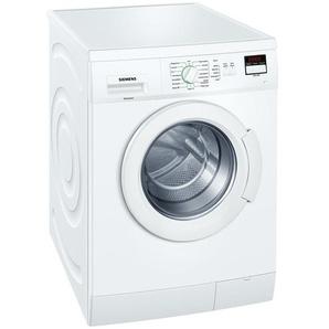 SIEMENS Waschvollautomat  WM 14 E 220 - weiß - Kunststoff, Glas , Metall-lackiert - 60 cm - 84,8 cm - 55 cm   Möbel Kraft
