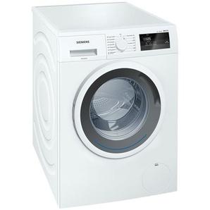 SIEMENS Waschvollautomat  WM 14 N 0A1 - weiß - Metall, Kunststoff - 59,8 cm - 84,8 cm - 55 cm   Möbel Kraft