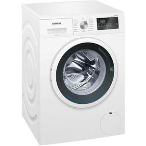 SIEMENS Waschvollautomat  WM 14 N 121 - weiß - Kunststoff, Metall-lackiert - 59,8 cm - 84,8 cm - 55 cm   Möbel Kraft