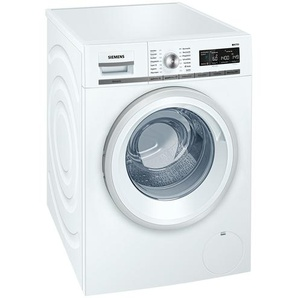 SIEMENS Waschvollautomat  WM 14 W 570 - weiß - Glas , Metall-lackiert, Kunststoff - 59,8 cm - 84,5 cm - 59 cm   Möbel Kraft