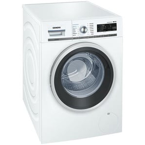 SIEMENS Waschvollautomat  WM 14 W 740 - weiß - Glas , Kunststoff, Metall-lackiert, Edelstahl - 60 cm - 84,5 cm - 59 cm   Möbel Kraft